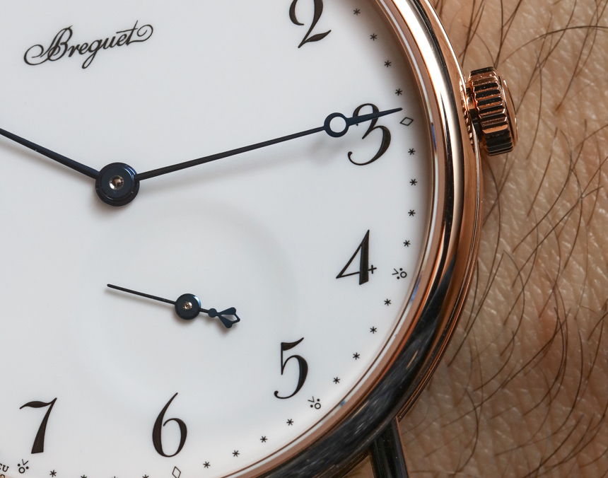 Breguet Classique 7147 'Grand Feu' Enamel Dial Watch Hands-On Hands-On