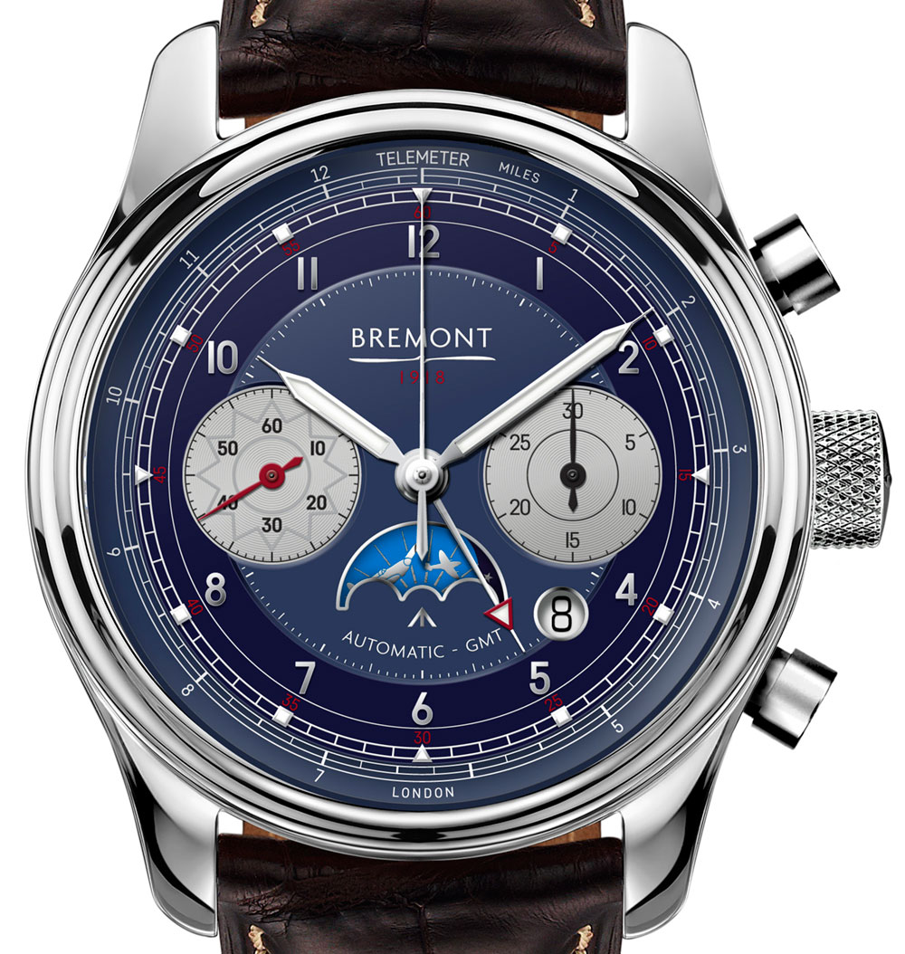 Bremont 1918 Limited Edition Chronograph GMT Watch