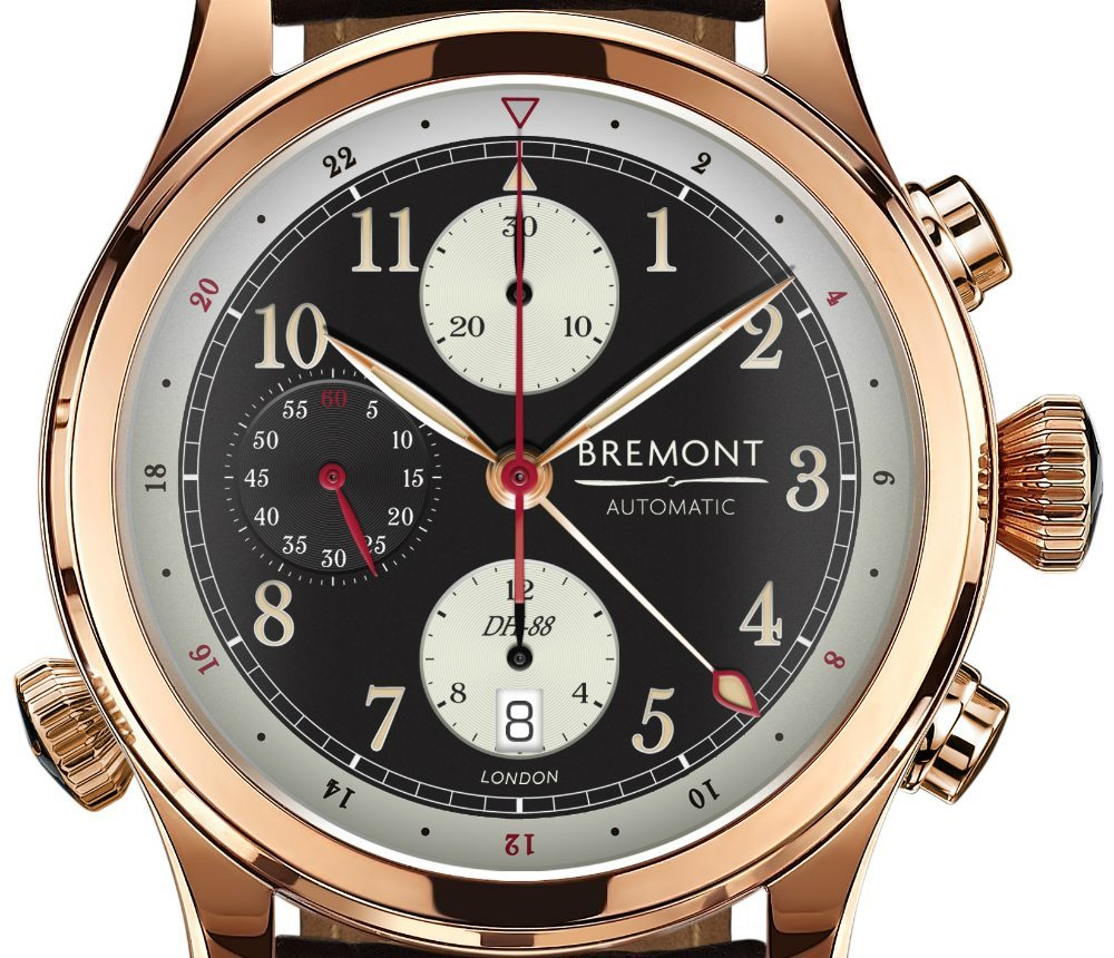 Bremont Comet DH-88 Limited Edition Watch Watch Releases