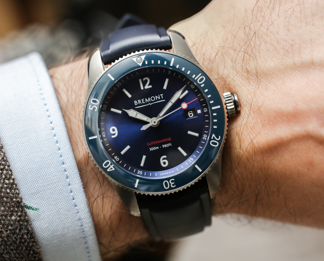 Bremont Supermarine S300 & S301 Dive Watches Hands-On Hands-On