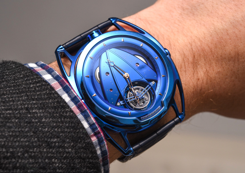 De Bethune DB28T Tourbillon 'Kind Of Blue' Watch
