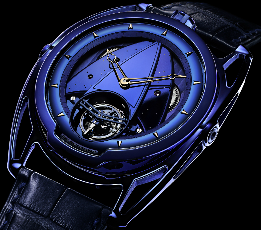 De Bethune DB28 & DB28T Tourbillon 'Kind Of Blue' Watches