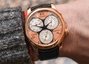 F.P. Journe Centigraphe Souverain Watch Hands-On Hands-On