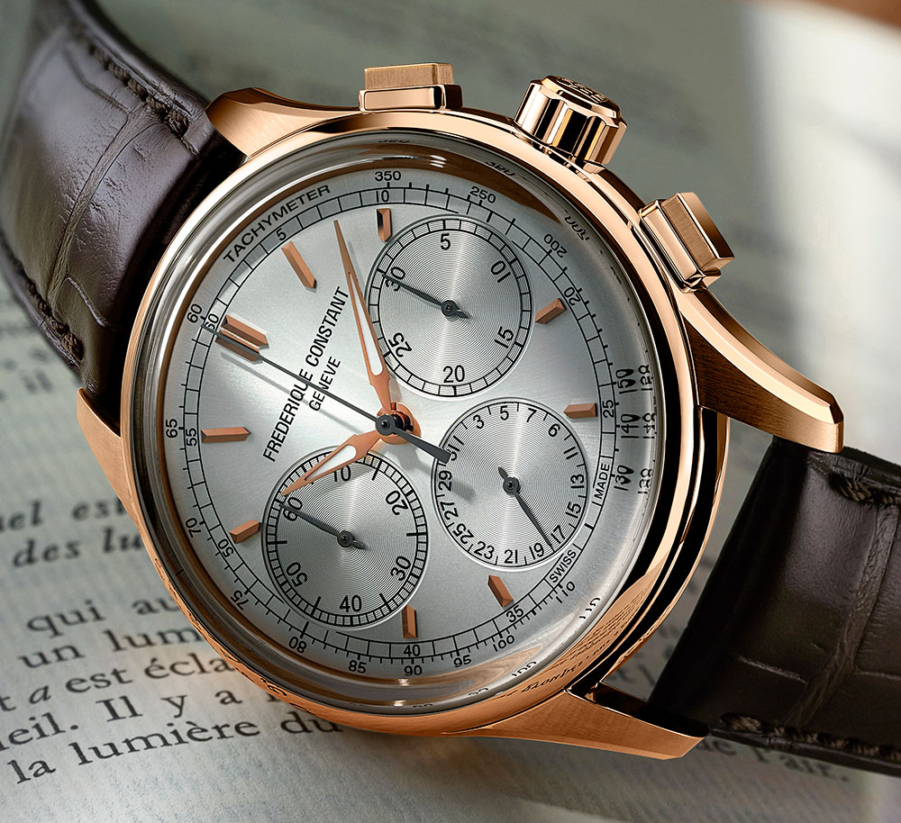 Frederique Constant Flyback Chronograph Manufacture Watch