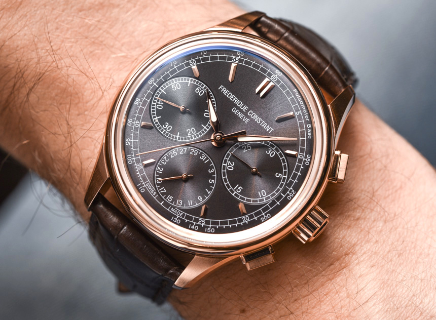 Frederique Constant Flyback Chronograph Manufacture Watch Hands-On