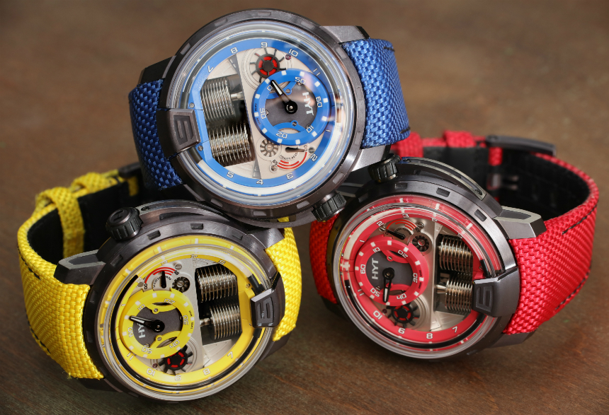 HYT H1 Colorblock Limited Edition Watches In Red, Yellow, Or Blue Hands-On