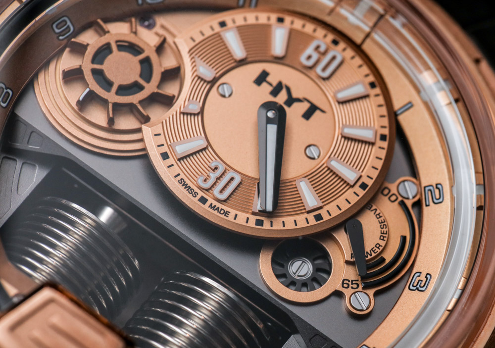 HYT H1 Full Gold Watch Hands-On