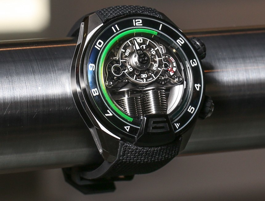 HYT H4 Metropolis Watch With 'Dynamo' Lights Hands-On
