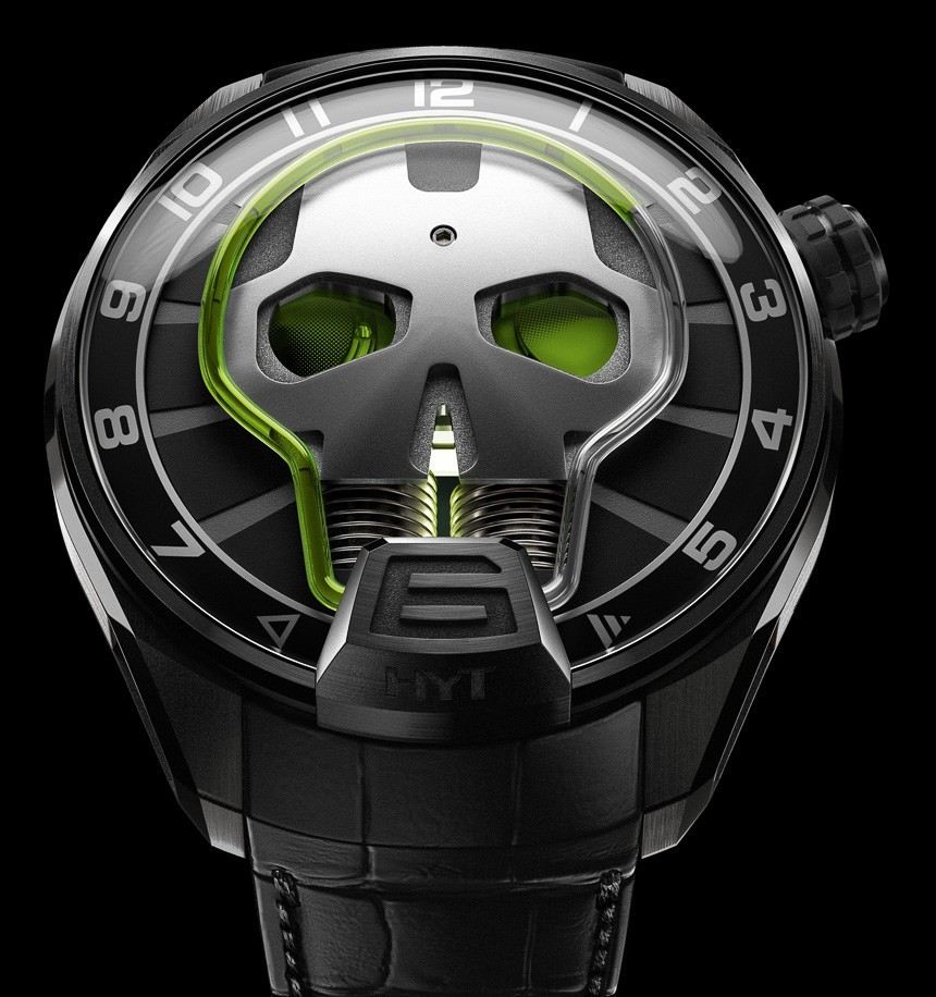 HYT Skull Watch Is Cool, Does Not Indicate Minutes