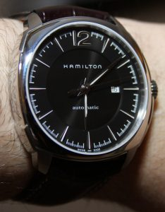 Hamilton Jazzmaster Cushion Watch Review Wrist Time Reviews