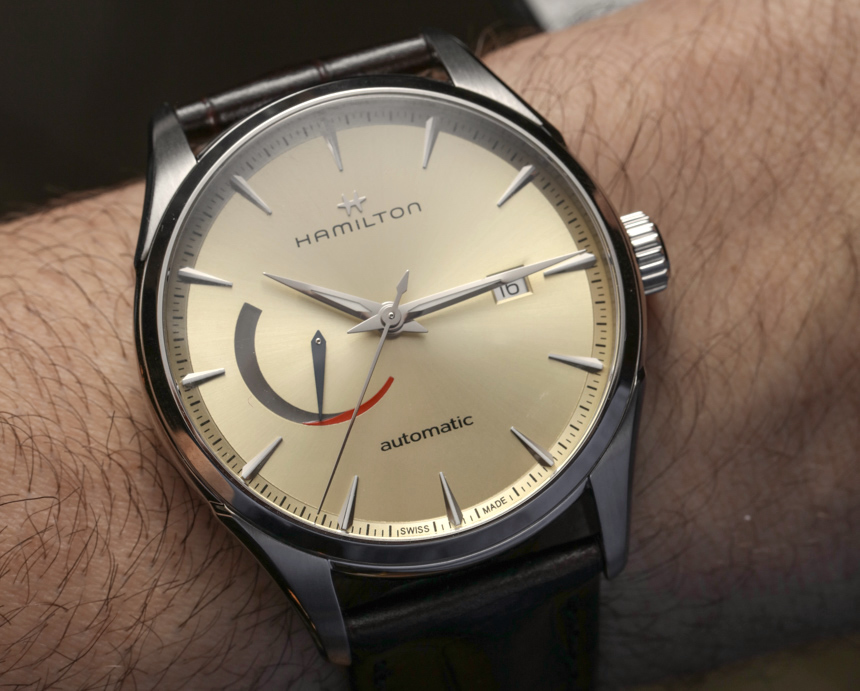 Hamilton Jazzmaster Power Reserve Watch Hands-On