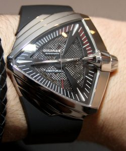 Hamilton Ventura XXL Watch In Men In Black III Hands-On