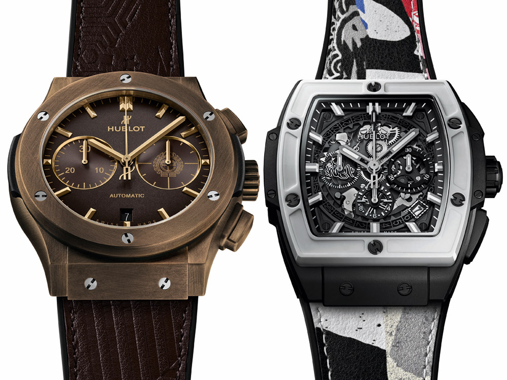 Hublot Spirit Of Big Bang & Classic Fusion Chronograph Watches Collaboration With Street Artists