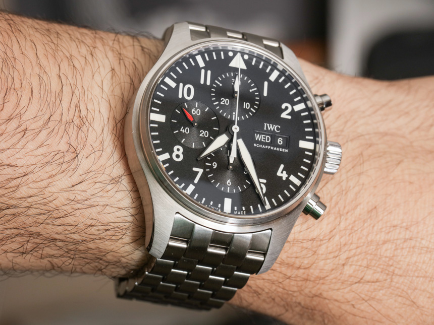 IWC Pilot's Watch Chronograph Watch Review Wrist Time Reviews