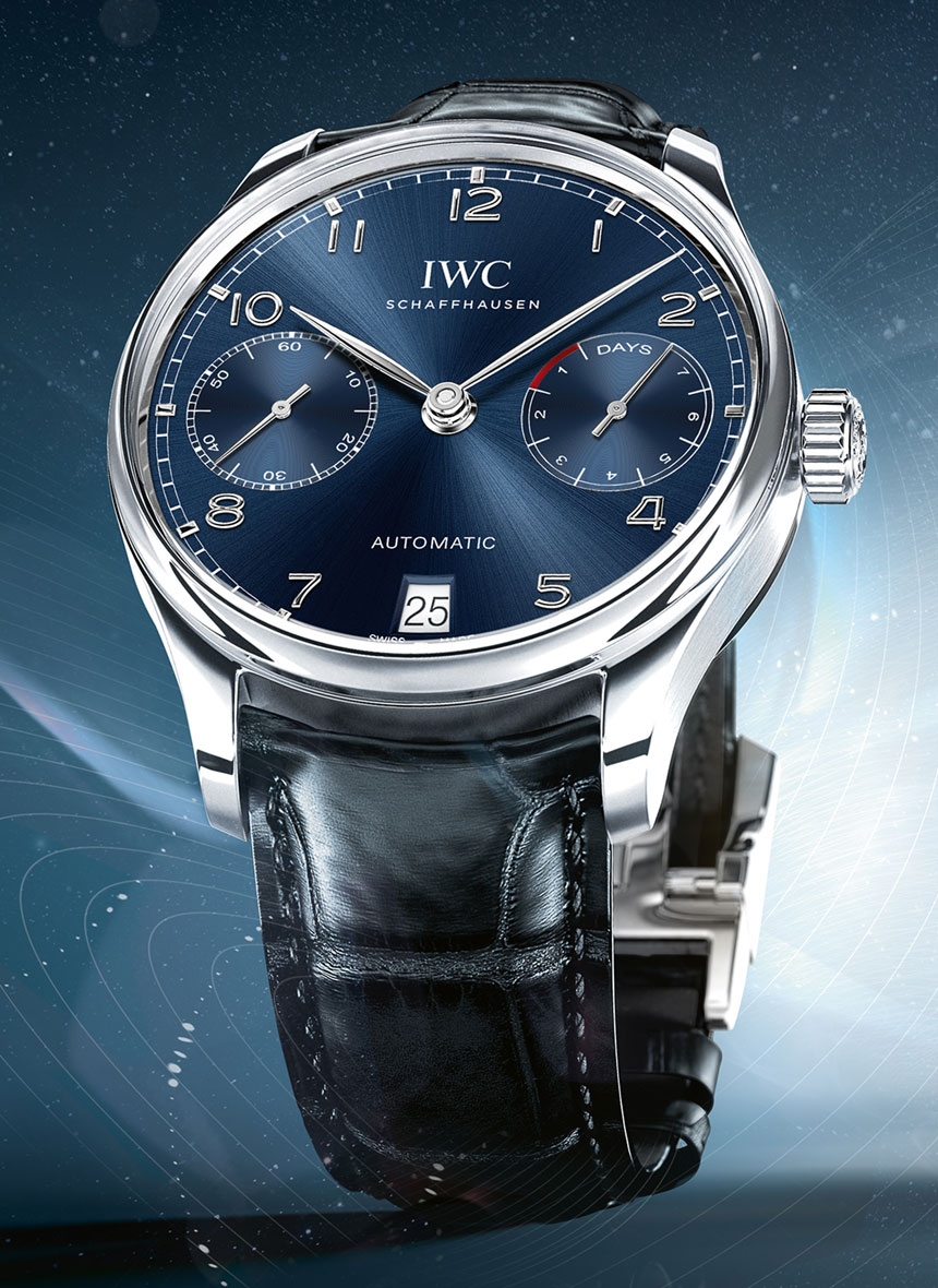 IWC Portugieser Blue Dial Watches
