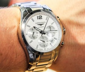 Longines Conquest Classic Chronograph Watch Review Wrist Time Reviews