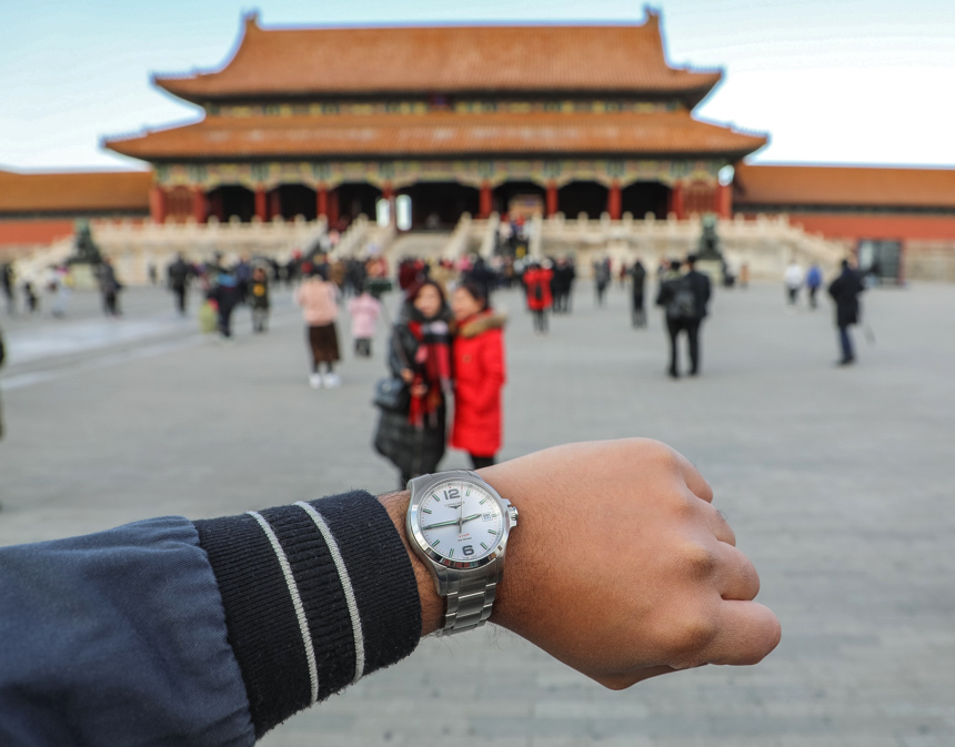 Traveling To China With The Longines Conquest V.H.P Watch To Mark Brand's 185th Anniversary