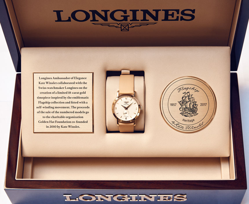Kate Winslet And Longines Collaborate On Limited Edition Watch Release
