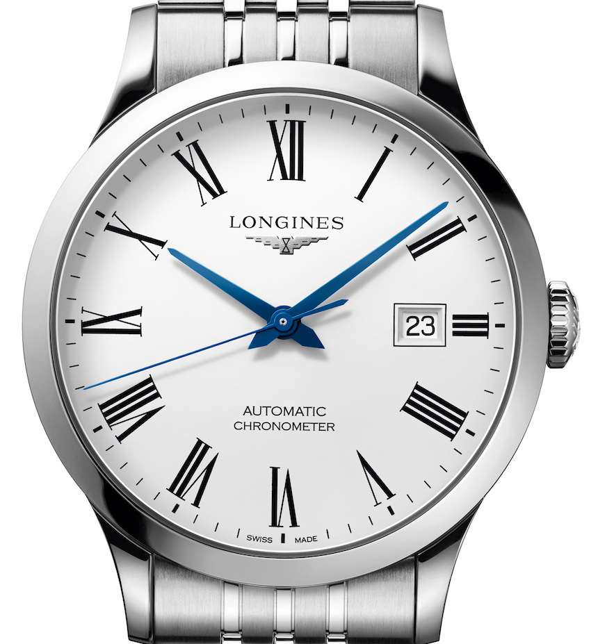 Longines Record Watches Are Brand's First COSC-Certified Collection