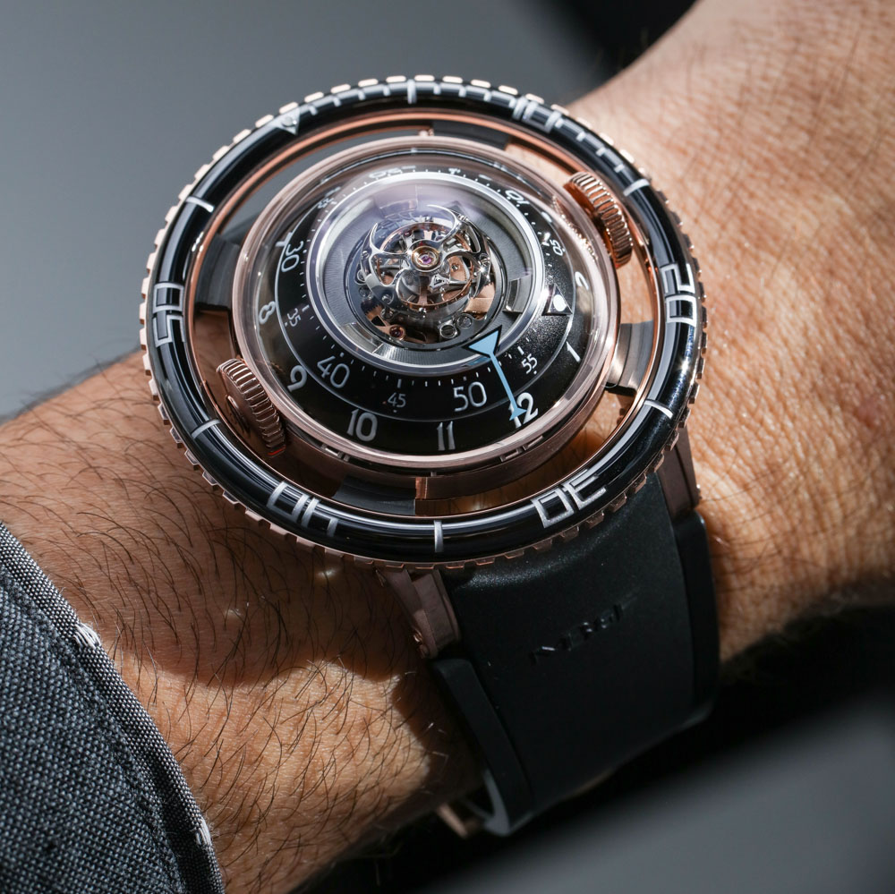 MB&F HM7 Aquapod Watch Hands-On