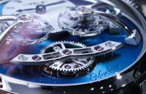 MB&F Legacy Machine 2 (LM2) Titanium Watch Hands-On Hands-On
