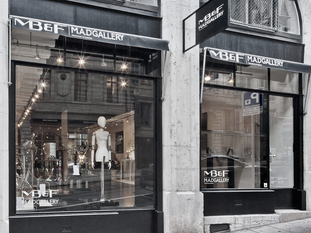 MB&F M.A.D Gallery In Geneva Robbed