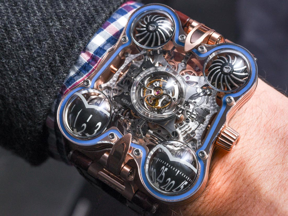 MB&F HM6 SV 'Sapphire Vision' Watch Hands-On