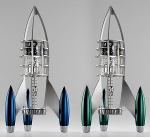 MB&F Destination Moon Clock By L'Epée Luxury Items
