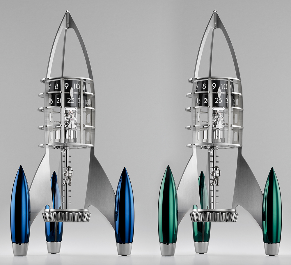 MB&F Destination Moon Clock By L'Epée