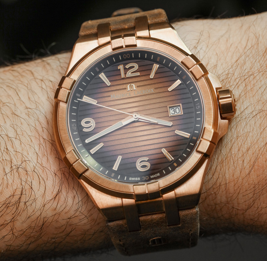 Maurice LaCroix Aikon Bronze Watch Hands-On