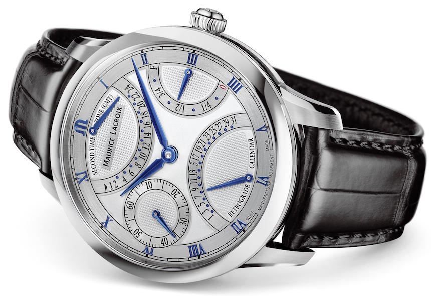 Maurice LaCroix Masterpiece Double Retrograde & Moon Retrograde Watches