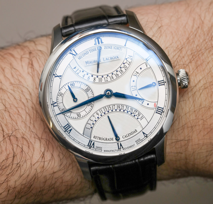 Maurice LaCroix Masterpiece Double Retrograde & Moon Retrograde Watches Hands-On