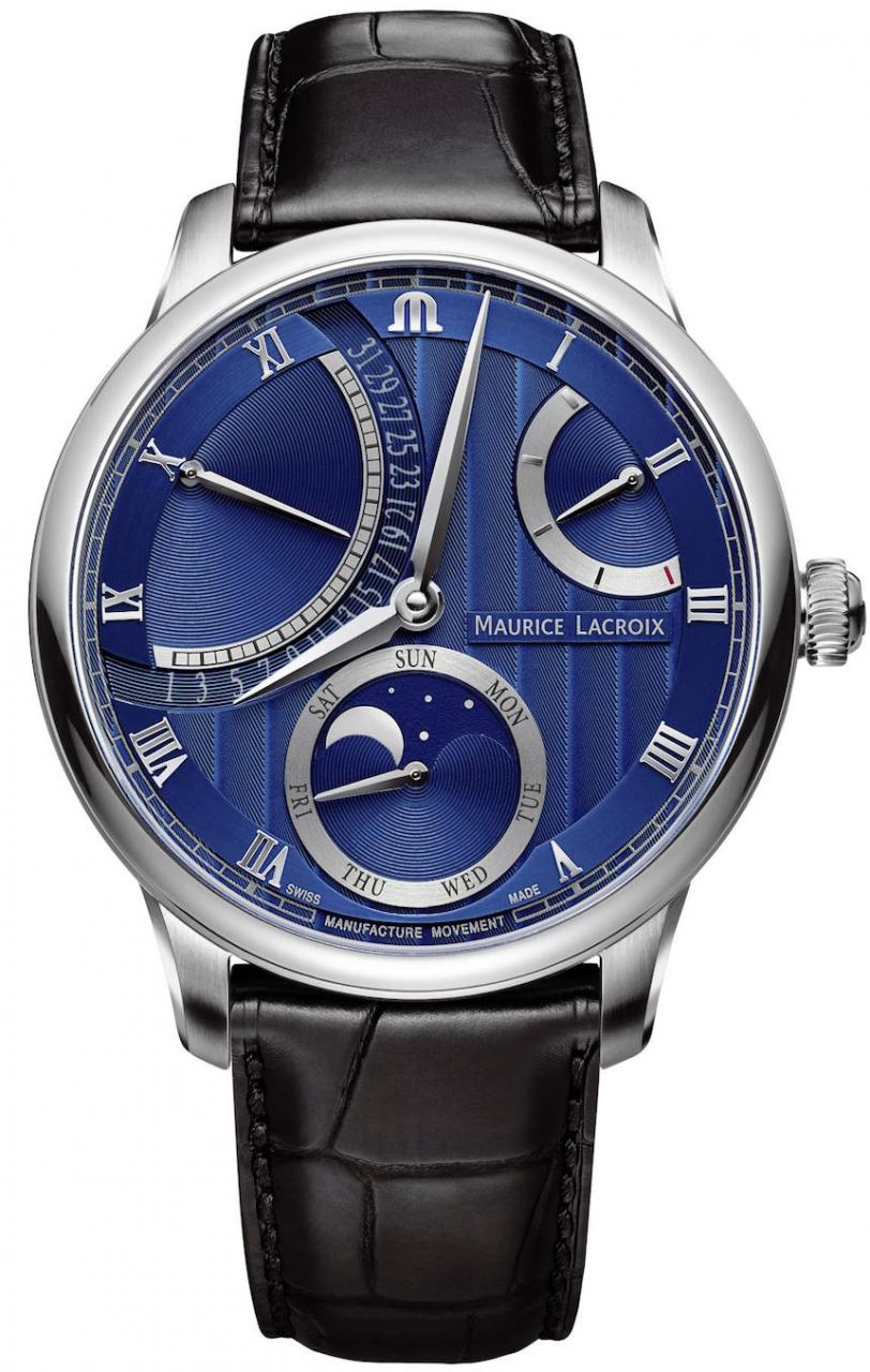 Maurice LaCroix Masterpiece Double Retrograde & Moon Retrograde Watches Watch Releases