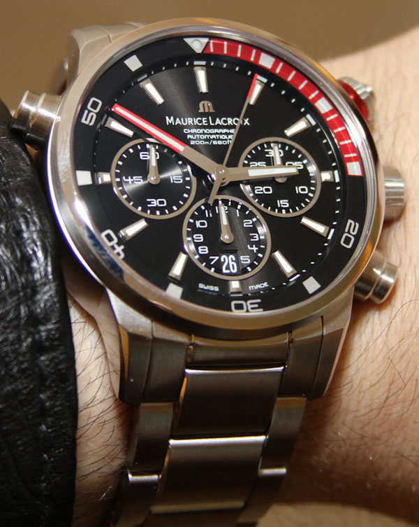 Maurice Lacroix Pontos S Chronograph Watch Hands-On