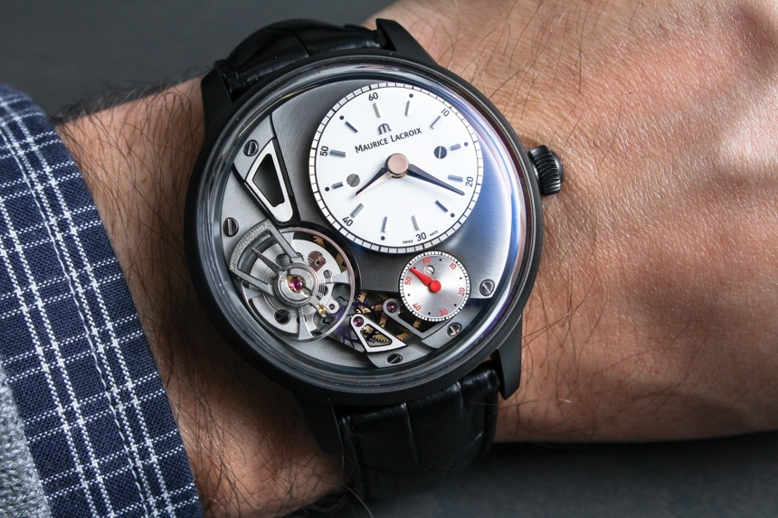 Maurice Lacroix Masterpiece Gravity Watch Hands-On