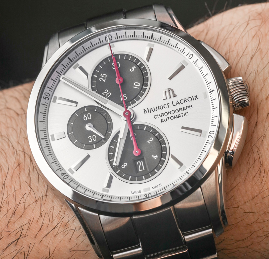 Maurice Lacroix Pontos Chronograph Watch Hands-On