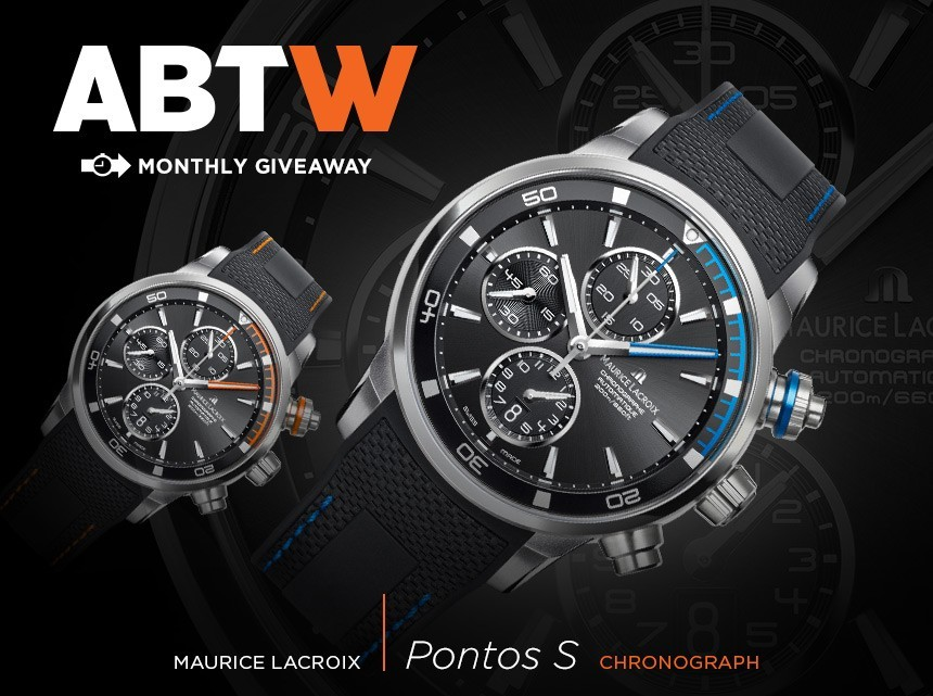 WATCH GIVEAWAY: Maurice Lacroix Pontos S Chronograph