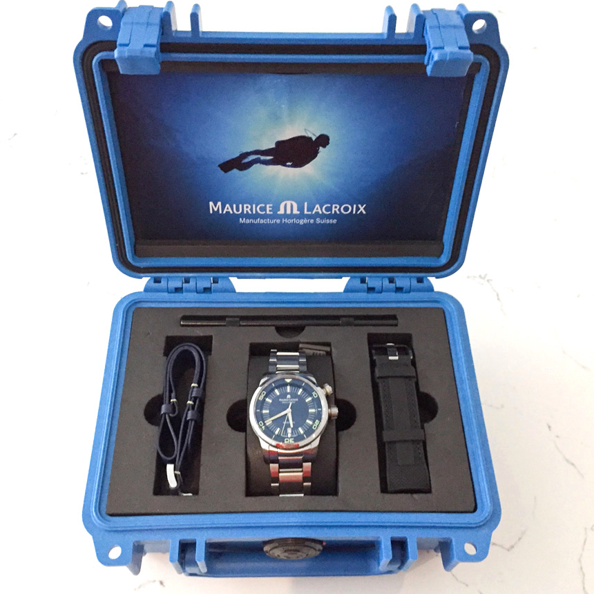WATCH WINNER REVIEW: Maurice Lacroix Pontos S Diver 'Blue Devil' Limited Edition Watch Giveaways