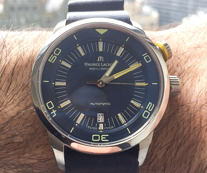 WATCH WINNER REVIEW: Maurice Lacroix Pontos S Diver 'Blue Devil' Limited Edition Watch