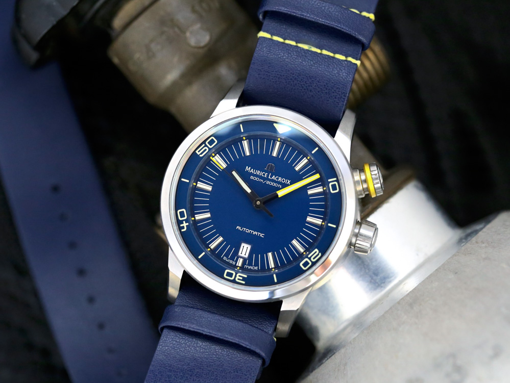 WATCH WINNER REVIEW: Maurice Lacroix 89851 Pontos S Diver 'Blue Devil' Limited Edition Watch Giveaways