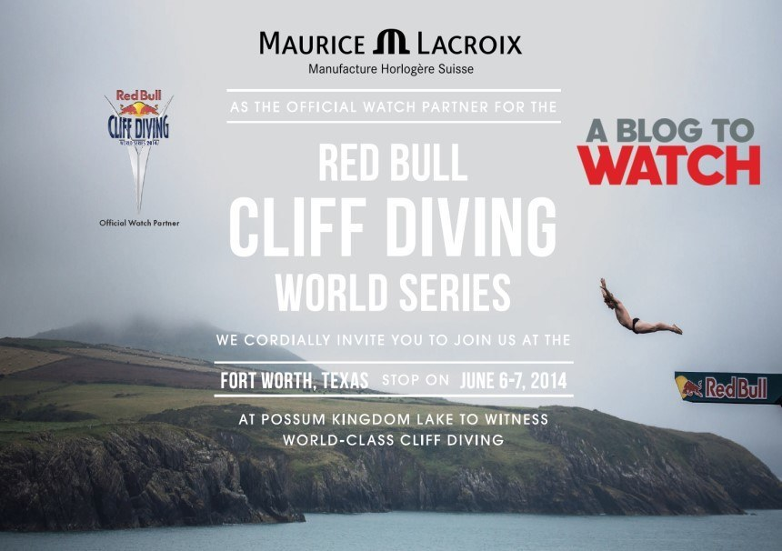 GIVEAWAY: Join aBlogtoWatch & Maurice Lacroix At The Red Bull Cliff Diving World Series