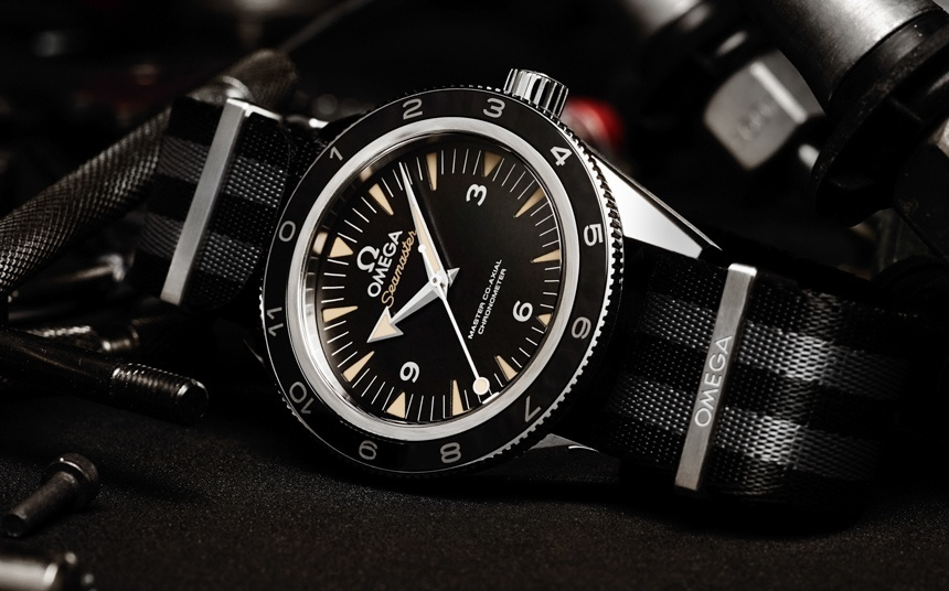 Omega Seamaster 300 'Spectre' Limited Edition Watch For James Bond Spectre Movie