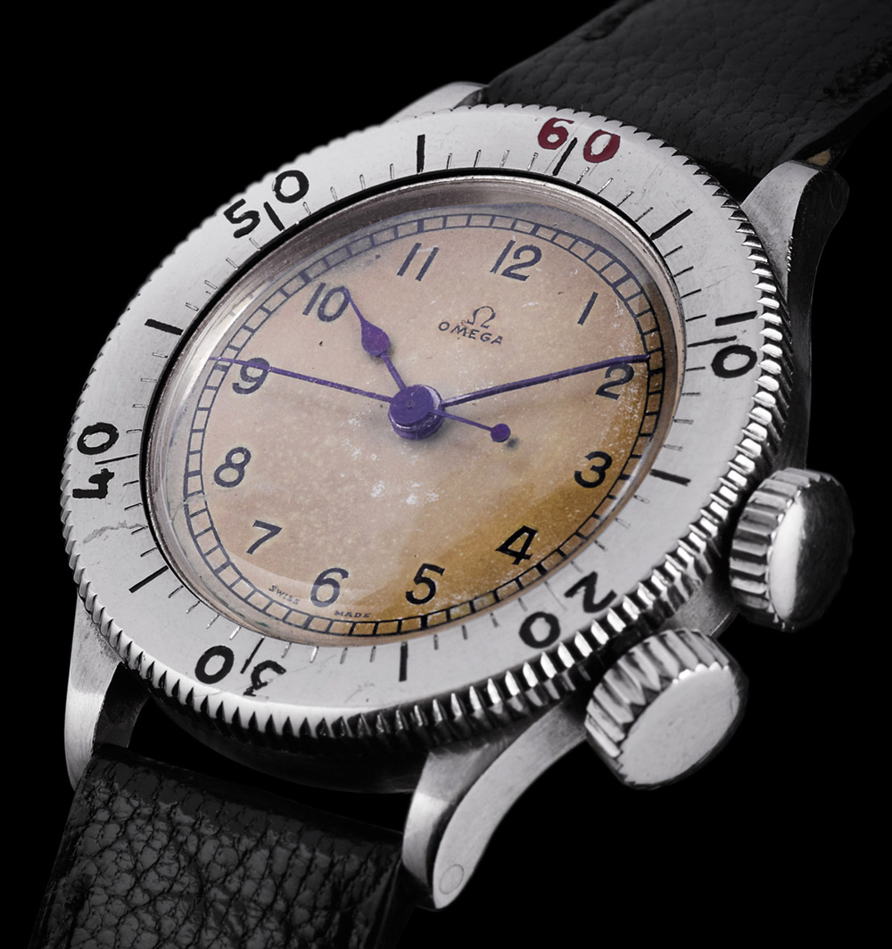 Omega CK2129 Watch In 'Dunkirk' Film & Omega's Role In WW2