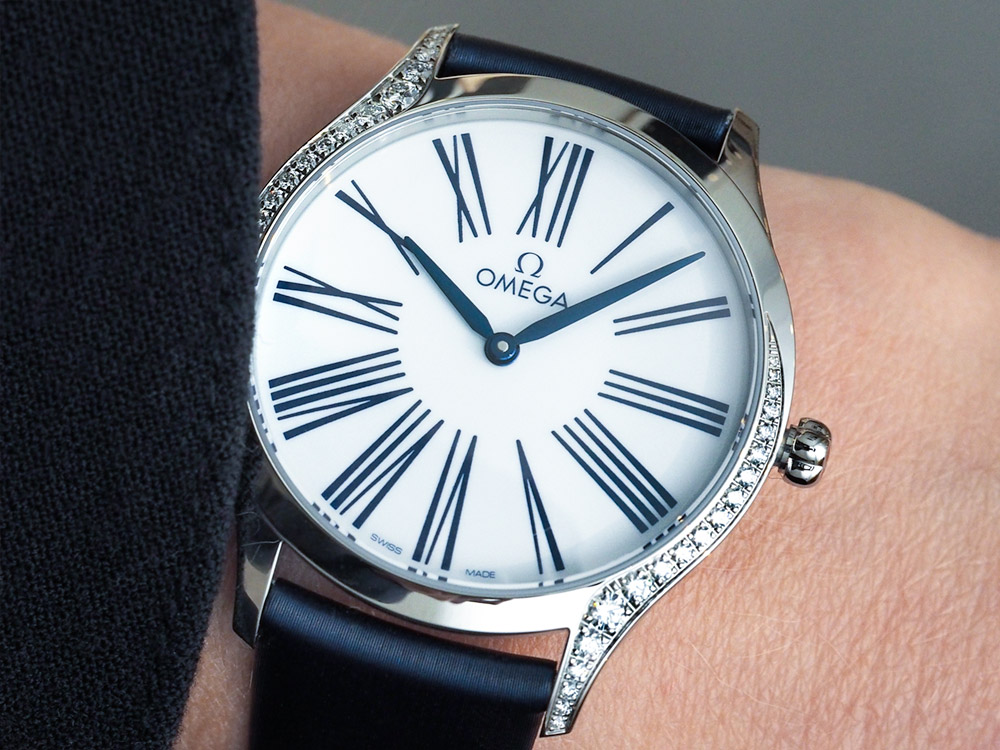 Omega De Ville Trésor Ladies Watch Hands-On