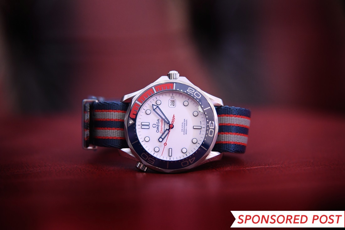 Omega Seamaster Diver 300M 'Commander's Watch' Giveaway From Luxe Watches