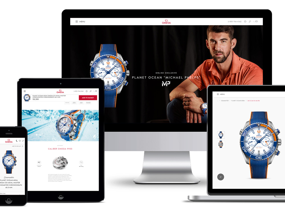 Omega Watches Launches E-Commerce For United States