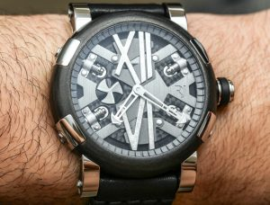 Romain Jerome Steampunk Auto 46 Watch Review Wrist Time Reviews