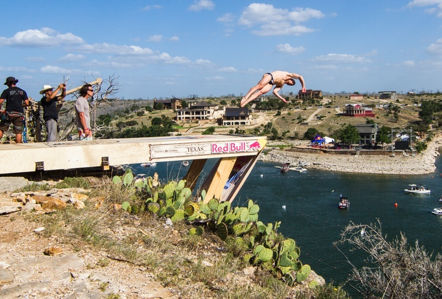 Cliff Diving With Red Bull And Maurice Lacroix