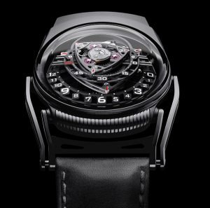 C3H5N3O9 Experiment ZR012 Watch In Black Zirconium Watch Releases