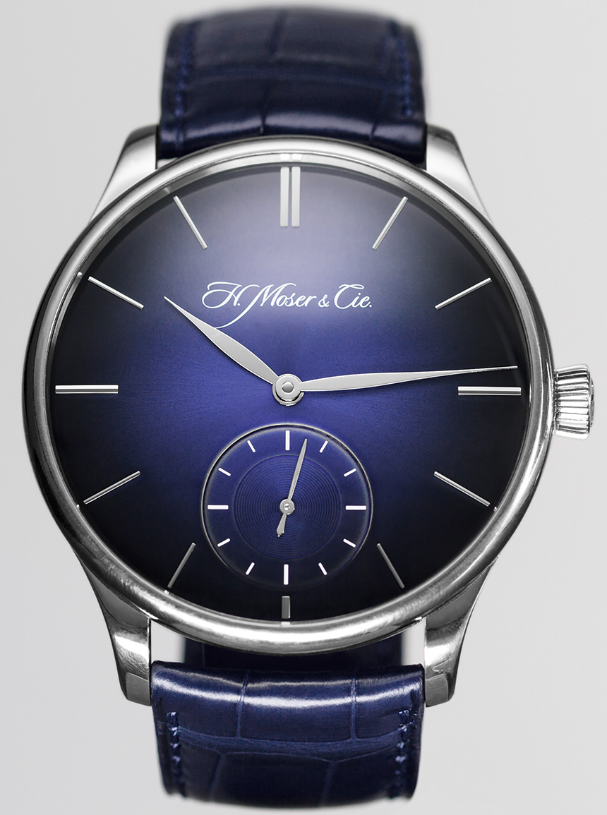 H. Moser & Cie. Venturer Small Seconds XL Paramagnetic Watch Debuts New Paramagnetic Hairspring